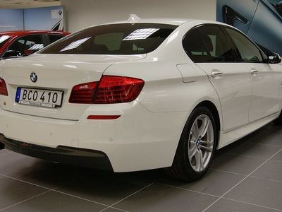 begagnad BMW 520 d M-sport, Nav, Komfortstol 2014, Sedan 284 900 kr