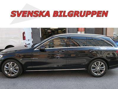 begagnad Mercedes C200 T d Euro 6 Halvskinn LM S+V hjul
