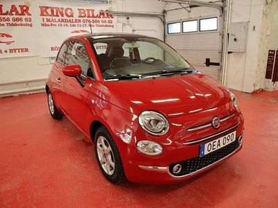 begagnad Fiat 500 1.2 Lounge 1ägare Euro6 Panorama