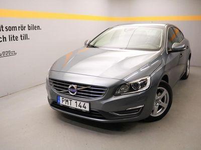 begagnad Volvo S60 D4 Momentum Business E, Dragkrok, VOC m fjärrstart parkvärm, Miljöklass EURO6