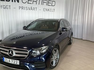 begagnad Mercedes E220 - Benz4 - MATIC AMG SKY MINNESPAKET