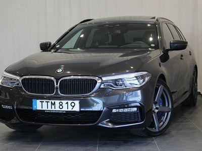 begagnad BMW 540 i xDrive Touring Innovation Edition M-Performance avgassyste