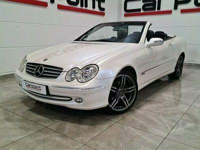 begagnad Mercedes 200 CLK BenzKompressor Cabriolet Navi, Unik Färg 2005, Personbil Pris 139 900 kr