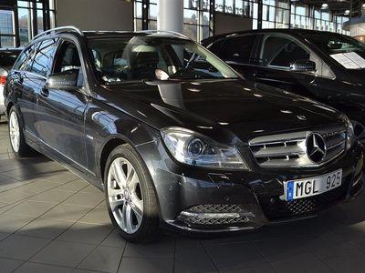 begagnad Mercedes C250 CDI 4-MATIC // Taklucka