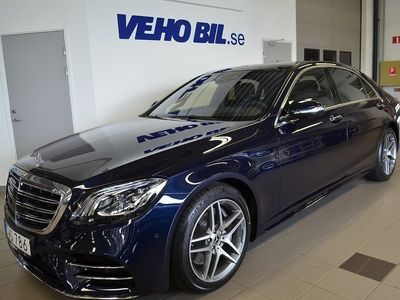 used Mercedes S400 d 4Matic Lång AMG Line, P -18