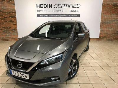 begagnad Nissan Leaf Leaf40kwh N-Connecta // Vinterhjul // Serviceavtal