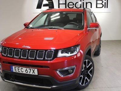 begagnad Jeep Compass LIMITED 1.4 Turbo AWD AUT BLACKWEEKEND De 2019, SUV 259 900 kr