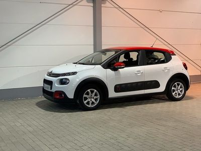 begagnad Citroën C3 1.2 PureTech FEEL 2018, Halvkombi 114 900 kr