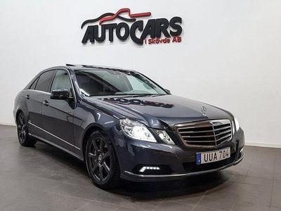 begagnad Mercedes E500 (388hk) 4MATIC | NAVI -10