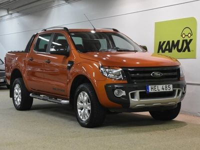 used Ford Ranger DC WILDTRAC 3.2 TDCi 4x4 Automatisk, 200hk,