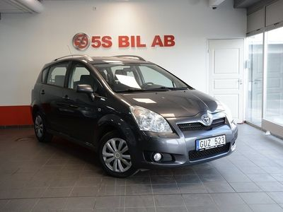 brugt Toyota Corolla 1.8 NYSE,7-SITS,1-ÄGARE,129HK