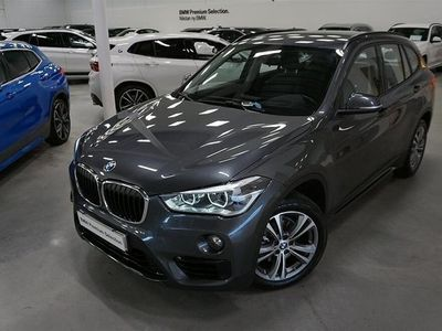 begagnad BMW X1 18d xDrive Sport Pkt Navi Dragkrok Head UP