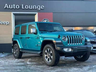 begagnad Jeep Wrangler Unlimited Overland 2.2 CRD 4WD Automat 200hk