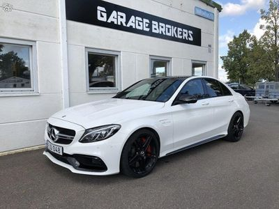 begagnad Mercedes C63S AMG AMGAMG / Panorama / Drivers package