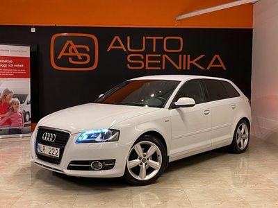 begagnad Audi A3 Sportback | 2.0 TDI | S-Line 140hk | Pärlemovit