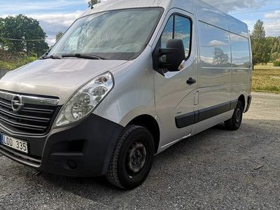 begagnad Opel Movano 2.3 CDTI 3 SITS Leasingsbar Dragkrock 2011, Transportbil 59 900 kr