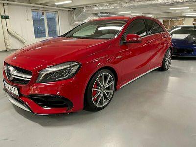 begagnad Mercedes A45 AMG AMG4MATIC AMG Euro 6 381hk