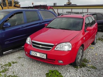 begagnad Chevrolet Nubira 1,6 16V SX Kombi Stöldskadad Fin