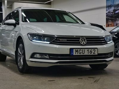 begagnad VW Passat TDI SCR 4M. Executive D-Vär -16