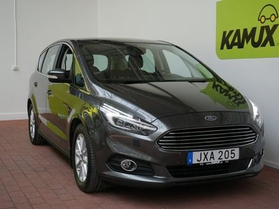 brugt Ford S-MAX 2.0 TDCi AWD Business 7-sits (180hk)