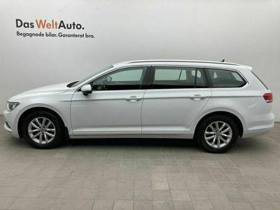 begagnad VW Passat Sportscombi 1.5 TSI 150 HK DSG Dragpaket P-Värmare