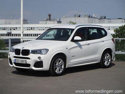 brugt BMW X3 xDrive20d 190hk M-Sport Aut. Momsbil