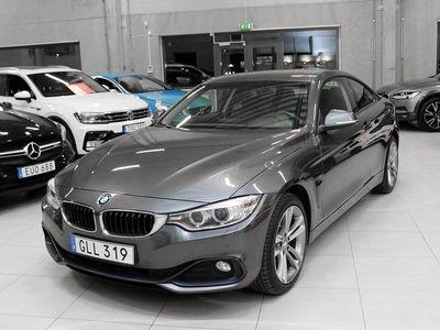 begagnad BMW 420 d xDrive Coupé Sport line