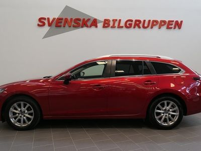 begagnad Mazda 6 2.2 SKYACTIV-D Aut Euro Drag P-sensorer