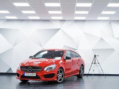 begagnad Mercedes CLA200 Shooting Brake d AMG Sport
