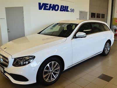 begagnad Mercedes E220 D/Parkeringsvärmare/Gaarmin Navigation/Automat/Dragkrok/ILS