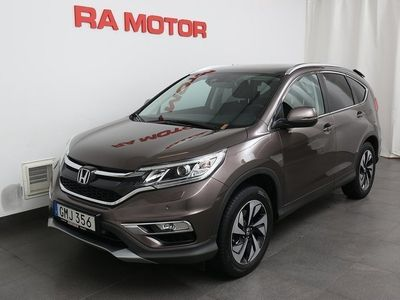 begagnad Honda CR-V 1,6 Diesel Executive Aut Navi 4WD -16