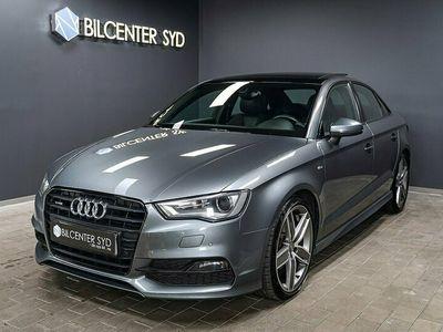 begagnad Audi A3 Sedan 2.0 TDI Qauttro, S-Line, Panorama 150hk