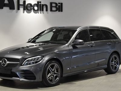 begagnad Mercedes C220 220 d // DEMO // AMG-Line // Backkamera