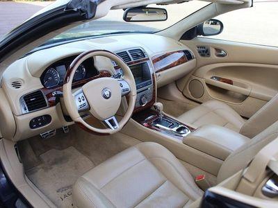 begagnad Jaguar XKR Cabriolet Conv 4.2 416hk, ljust skinn+valnöt