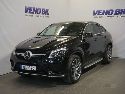 brugt Mercedes GLE350 Coupé 4-Matic AMG 360- -18