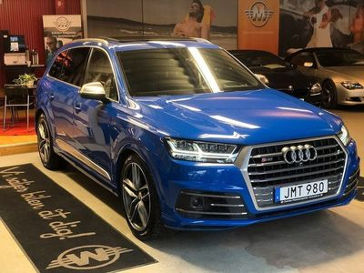 begagnad Audi SQ7 4.0 TDI V8 quattro TipTronic Euro 6 7-sits 435hk