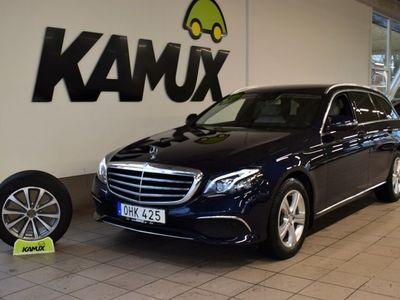 begagnad Mercedes E220 d 9G-Tronic 194hk | D-värm | Helskinn | Navi | 360 kamera | Sov