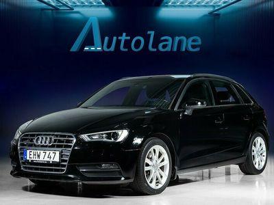 begagnad Audi A3 Sportback 2.0 TDI Quattro Värmare Euro 6 184hk