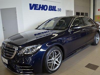 usata Mercedes 400 Benz S d 4Matic Lång AMG Line, Premiumpaket Plus 2018, Sedan 1 149 000 kr