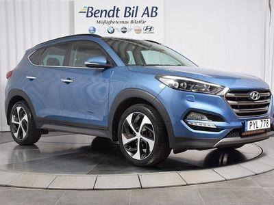 gebraucht Hyundai Tucson 2.0 D 4WD Premium EURO 6
