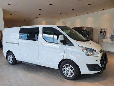 begagnad Ford Custom TransitCrew Dubbelhytt Skåp Limited