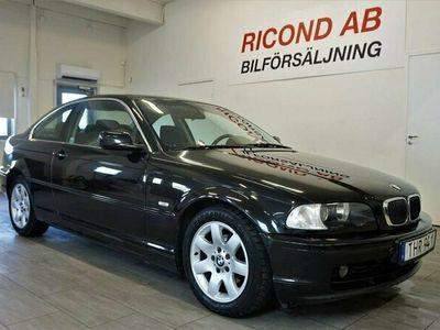 begagnad BMW 320 Ci e46 Coupé 170hk svensksåld nybes