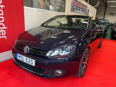 begagnad VW Golf Cabriolet 1.4 TSI BlueMotion Comfort 122hk