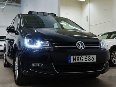 begagnad VW Sharan TDI 4M.Premium 7-sits Panorama Navi Värmare Drag 150hk
