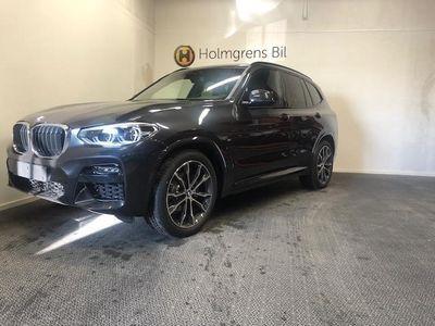 begagnad BMW X3 xDrive20d M Sport Navi Värmare Fartpilot Drag HiFi