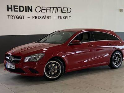 begagnad Mercedes CLA200 Shooting Brake CDi (136hk)
