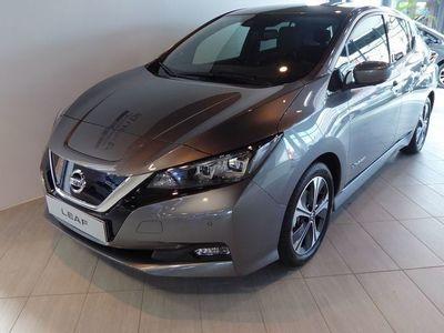 begagnad Nissan Leaf E+ TEKNA MY19.5 62 KWH // Demobil