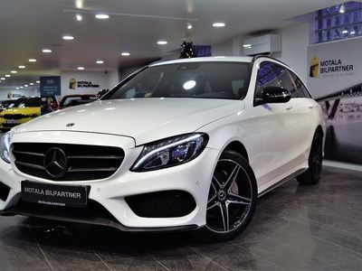 begagnad Mercedes 220 C4MATIC | AMG | Night Package |