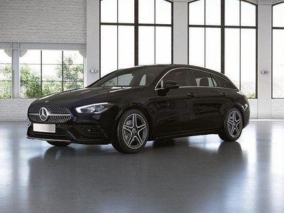 begagnad Mercedes CLA180 Shooting Brake 7G-DCT AMG paket Dragkrok