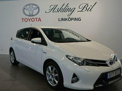 begagnad Toyota Auris 1,8 HSD 5-D Edt 50 M-värmare